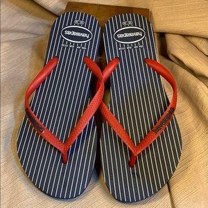 Havaianas NWOT flip flops never worn